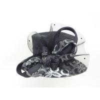 Church Hats For Women in Silver Black H6180
