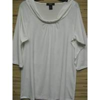 China Womens Impulse Casual Missy/Plus Size 3X 18/20 Ivory White Top Blouse on sale