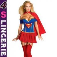 Quality Sexy Costume New Coming Sexy Superhero Costume CT1417 for sale