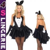 China Sexy Costume Fashionable Design Deluxe Sexy Bunny Costume Wholesale From Guangzhou, China on sale