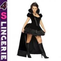 Quality Sexy Costume Sexy Queen Costume with halter top and mini sk CT0732 for sale