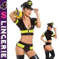 Quality Sexy Costume Latest style top selling beautiful sexy policewomen costume - CT1470 for sale