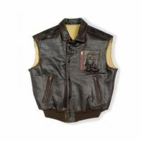 China The Stearman Leather Vest on sale