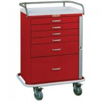 Quality Crash Carts & Emergency Carts Harloff #6400 - CLASSIC LINE 6 Drawer Emergency Cart - Colors! for sale