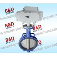 Quality Electric butterfly valve D973H Electric butterfly valve for sale