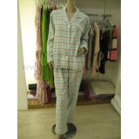 China 305 ladies soft cotton flannel pyjama on sale