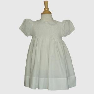 Buy Christening Outfits Baby Girls White Smocked Dresses from Feltman Brothers (12M-24M) at wholesale prices