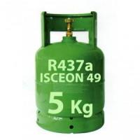 Quality 5 Kg R437a REFRIGERANT GAS REFILLABLE CYLINDER for sale