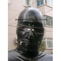 Quality Latex Hood with Zippers for sale