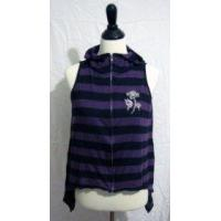 Buy cheap [USED] Bodyline Blood Storm Black and Purple Butterfly Hoodie from wholesalers