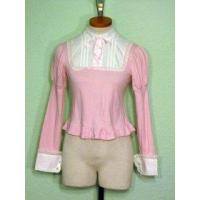 Buy cheap [USED] Angelic Pretty Pink Cutsew w/ Bib Style Collar from wholesalers