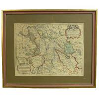 Quality 18th century map print for sale