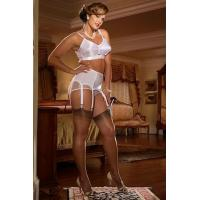 Quality Coquette Satin Bullet Bra for sale
