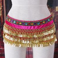 Sexy Belly Dancing Belt Sequin H2625 Golden