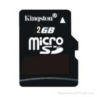 Quality Kingston MicroSD Card 2GB for sale