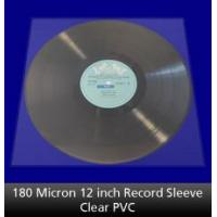 Buy cheap 180 Micron 12 inch Record Sleeve Clear from wholesalers
