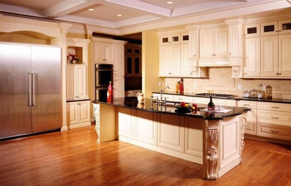 Galley Cream Maple kitchen cabinets Product Photos,Galley Cream ...