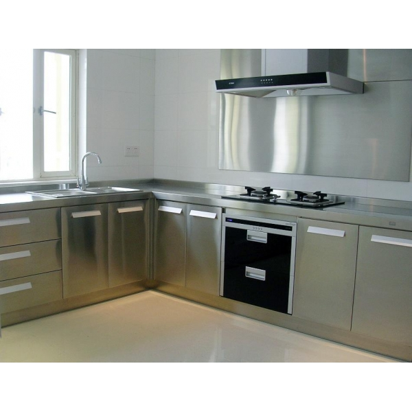 Aluminium alloy kitchen cabinet of sylongroup