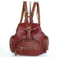 Quality 2122 100% Real Leather Cute Shoulder Backpack Hand Bag Purse for sale