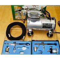 Buy cheap 2010 MODEL AIRBRUSH KIT COMPLETE WITH COMPRESSOR AS18 81.94 from wholesalers