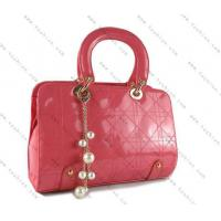 China Fancy classic sewing lines PU tote bag on sale