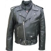 China Men's Motorcycle Leather Jackets on sale