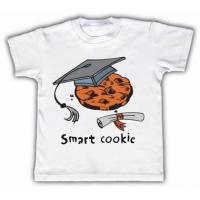 China Smart cookie Funny Toddler T-shirt on sale