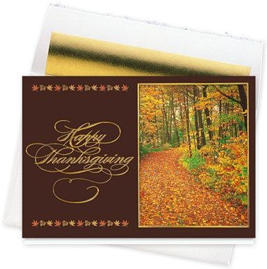 China Thanksgiving Cards