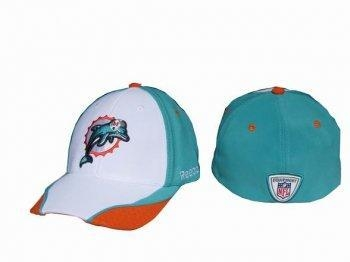 Buy NFL Miami Dolphins NFL Hat White/Green(Caps)Free Shipping! at wholesale prices