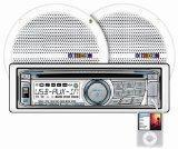 China Dual MXCP66 In-Dash Marine AM/FM/CD/MP3 Receiver 6 1/2-Inch Speaker Combo Pack - White on sale