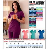 Quality Grey's Anatomy Scrubs #71139 2 Pkt. V-Neck with Extra Stitch Detail for sale
