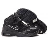 Quality Nike Air Hoop Structure LE (black / black / white) Mens shoes for sale
