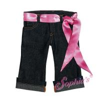 Quality Crop Jeans with Sash for sale