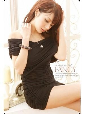Blackshirt Dress on Cotton Pleated In Black Lady T Shirt Dress For Sale Of Item 41553302