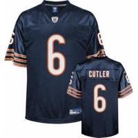 Quality Jay Cutler Chicago Bears Navy #6 Kids Jersey for sale
