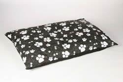 Buy Animal Instincts - Black Paws Dog Bed Mattress Small Approx. 95cm x 75cm at wholesale prices