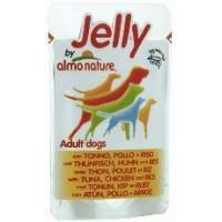 Quality Almo nature - Dog food Adult Jelly With Tuna,Chicken & Rice Pouch 150g for sale
