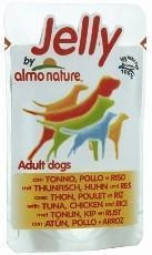 China Almo nature - Dog food Adult Jelly With Tuna,Chicken & Rice Pouch 150g
