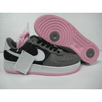 China Women Nike Air Force 1 25th Black Pink Shoes on sale