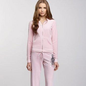 Buy Juicy Women's 1002 Velvet Track Suit - Pink at wholesale prices