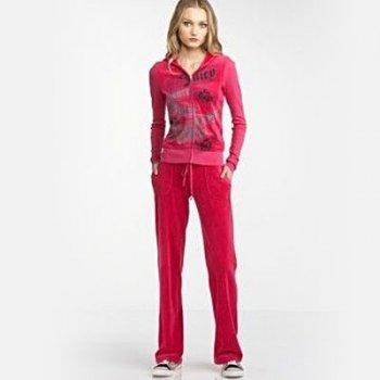 Buy Juicy Women's 1032 Velvet Track Suit - Red at wholesale prices
