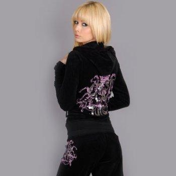 Buy Juicy Women's 1031 Velvet Track Suit - Black at wholesale prices