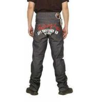 China Bape A Bathing Ape Grey Red White Mens Jeans on sale