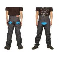 China Bape A Bathing Ape Blue star Grey Mens Jeans on sale