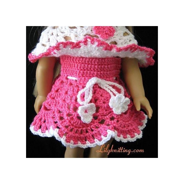 Crochet Patterns Doll Clothes : CHINA DOLL DRESS PATTERN Patterns For You