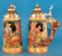 Buy cheap German Beer Stein - Fox Handle from wholesalers