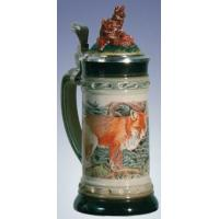 Buy cheap German Beer Stein - LE- Fox from wholesalers