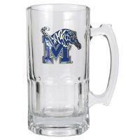 Memphis Tigers Large 32 oz. Glass Mug