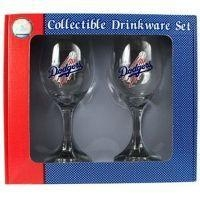 Buy Los Angeles Dodgers Wine Glass Set at wholesale prices