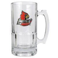 Quality Louisville Cardinals Large 32 oz. Glass Mug for sale